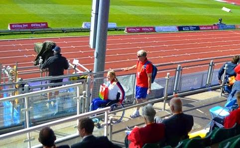 Discus Dan Swansea 2014 IPC European Championship Paralymipcs Sainsbury's