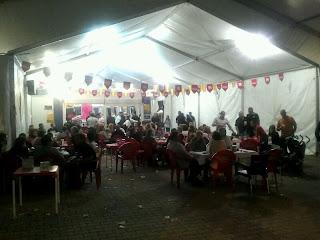 Casetas durante estas fiestas pasadas, 2012