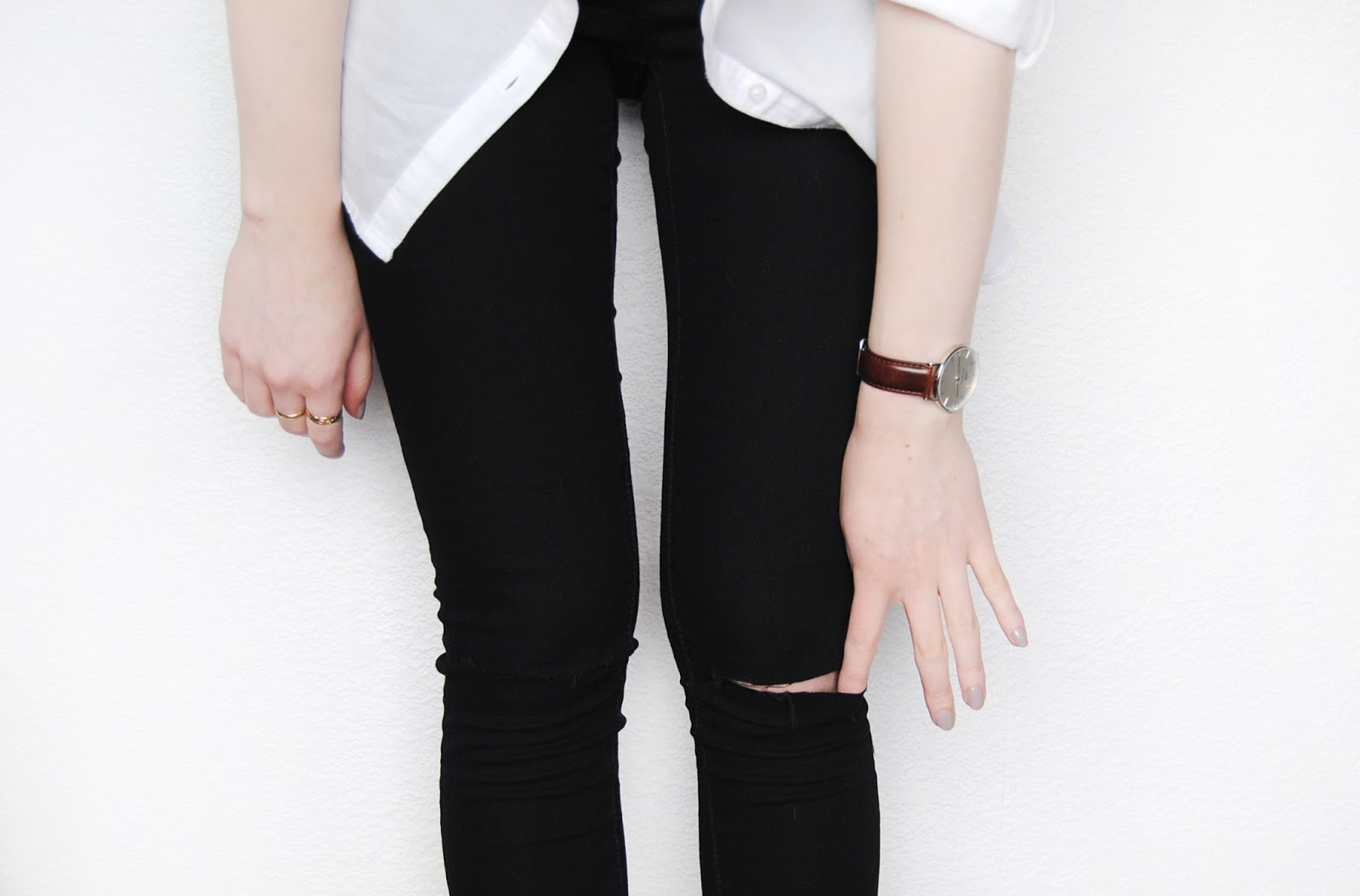 Diy Ripped Black Jeans | www.pixshark.com - Images ...