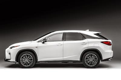 2016 Lexus RX 350 Exterior Redesign