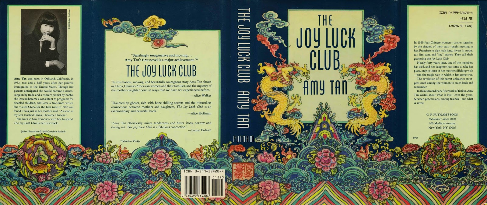 "an overview of the joy luck club by amy tan All my good intentions chinese mothers and their american daughters in amy  tan's the joy luck club """"no choice no choice"" she doesn't know."