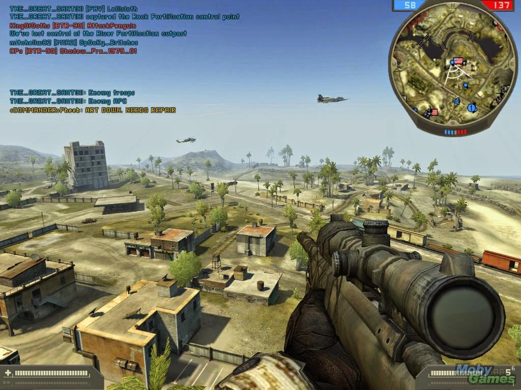 battlefield 2 сервер online: