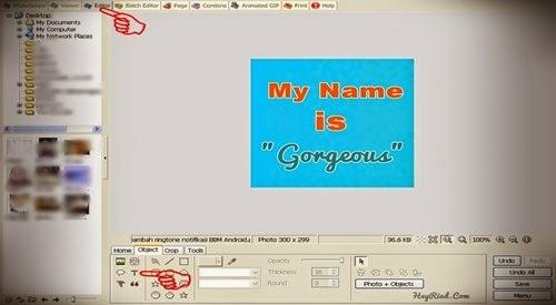 animasi dp bbm nama sendiri