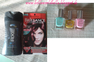 Axe, Brillance, p2 nail polish