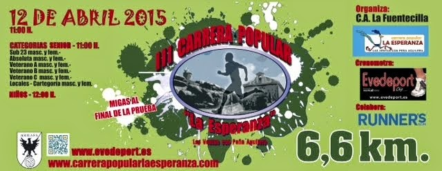 "III Carrera Popular ""La Esperanza"" de Ventas con Peña Aguilera"