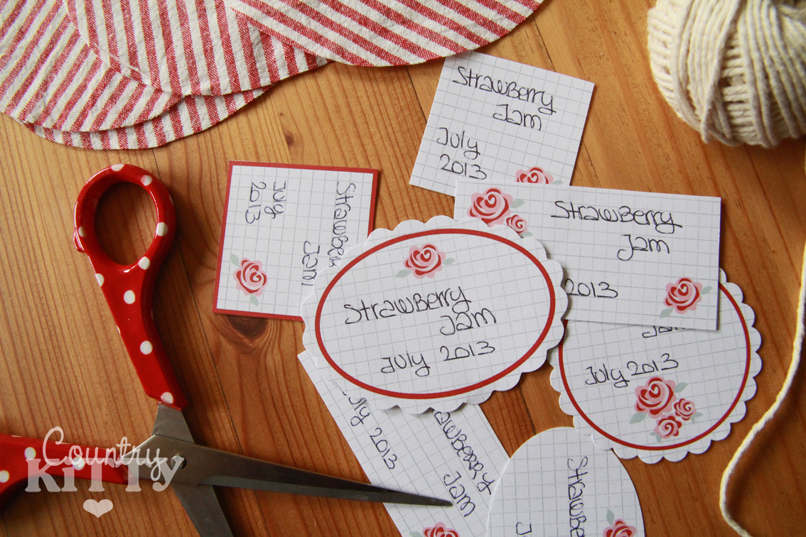 Estremamente Countrykitty: Jam labels (freebie!) GA85