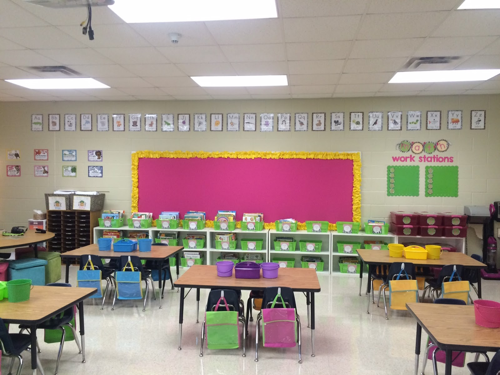 Castles and Crayons: Classroom Setup 2015 - Day Two