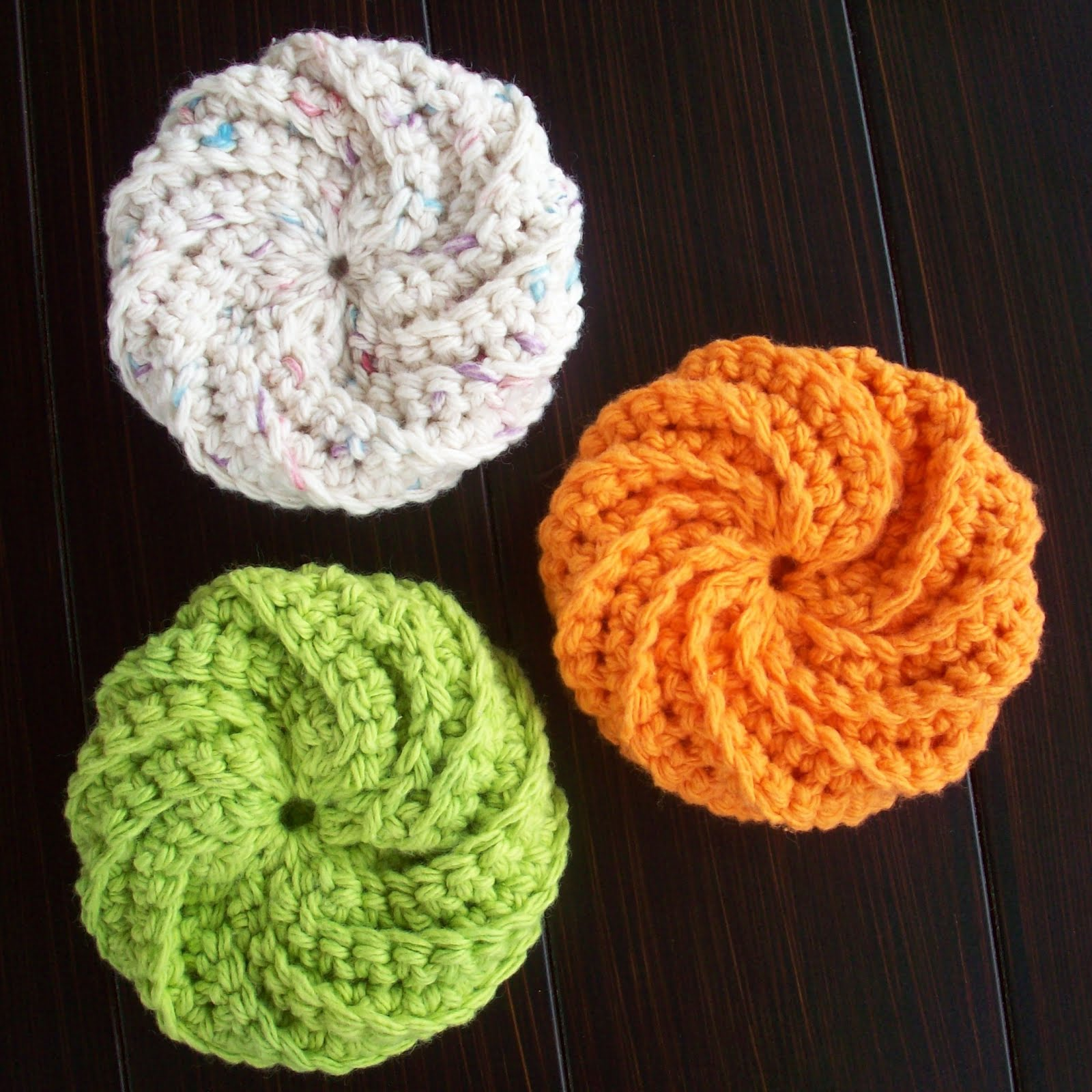 Crocheting Scrubbies : Crochet Scrubbies