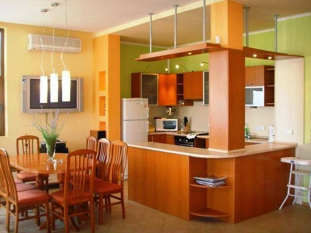 Unique and modern kitchen wall painting ideas wall for Cool kitchen wall colors