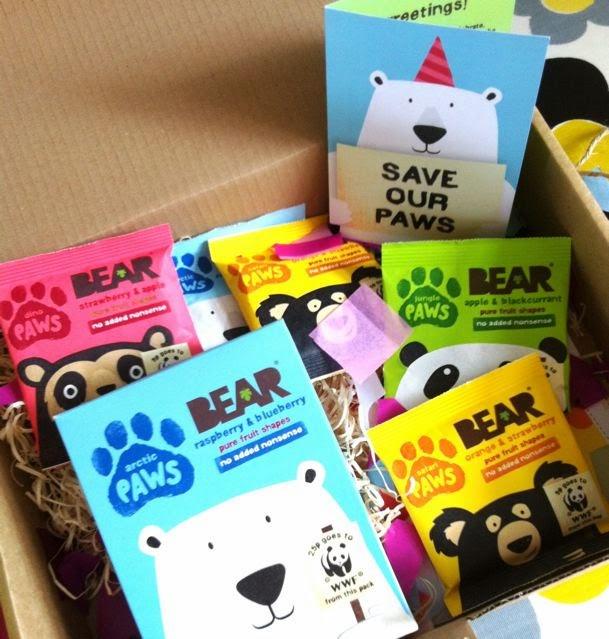 Bear birthday package