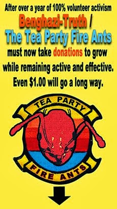DONATE TO THE TEA PARTY FIRE ANTS