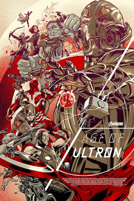 San Diego Comic-Con 2015 Exclusive Marvel's Avengers: Age of Ultron Variant Screen Print by Martin Ansin