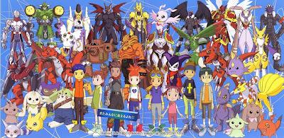 Poster Digimon Tamers
