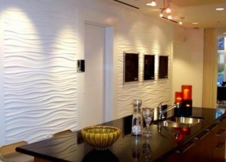 Emplea un pintura con textura en tu casa