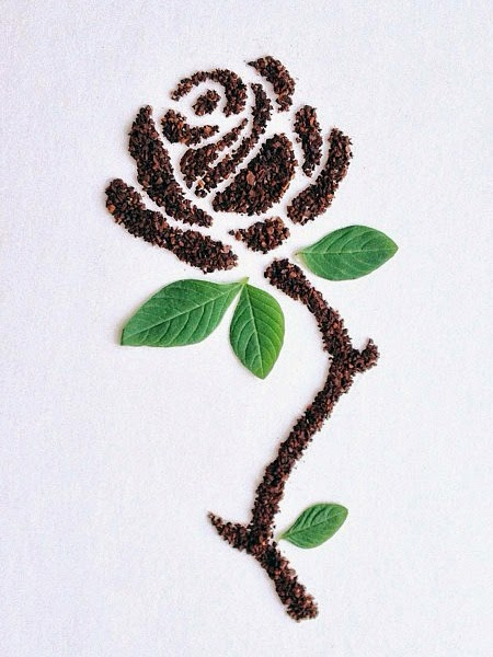 1000 images about coffee beans art on pinterest coffee for Painting with coffee grounds