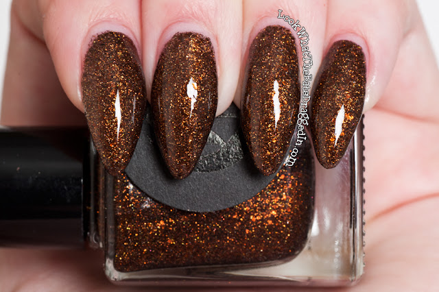 Cirque colors French Roast nail polish swatch manicure