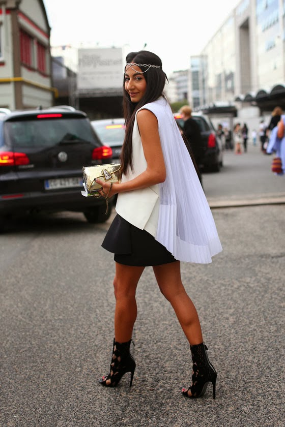 Paris Fashion Week Ss14: Valeria, Nausheen, Yasmin, Jessie And Carmen