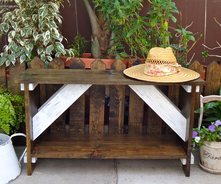 Garden Bench- Available $125
