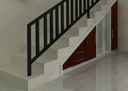 besi baja murah: desain tangga besi baja spiral cantik