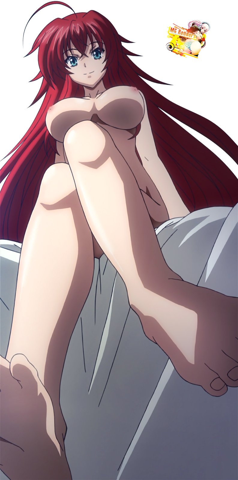 High School DxD - Rias Gremory Render 56 Ecchi Hentai Naked Feet Large ...