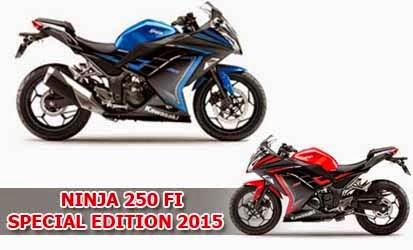Pilihan Warna Kawasaki Ninja 250 FI Special Edition 2015