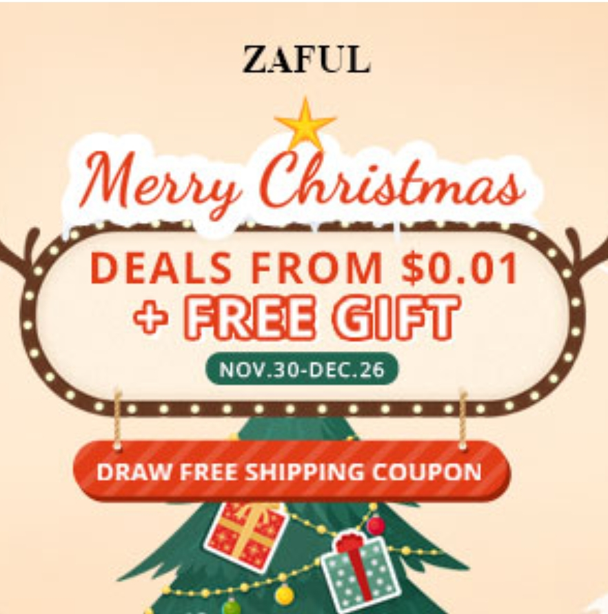 Promotion zaful Christmas