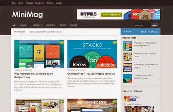 MiniMag Responsive Friendly SEO Blogger Template - Friendly SEO ...