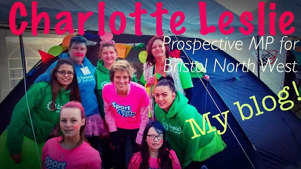 Charlotte Leslie  -  Prospective MP  Bristol North West