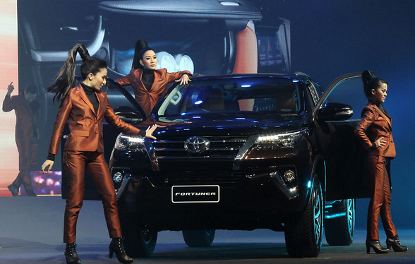 Peluncuran Toyota Fortuner Terbaru 2015 - 011