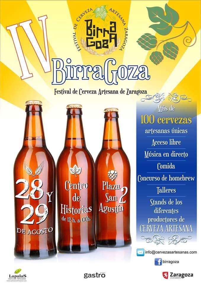 BIRRAGOZA. IV Festival de la cerveza artesana