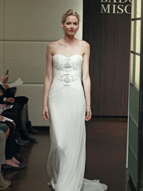 Badgley Mischka Fall 2013 Wedding Dresses
