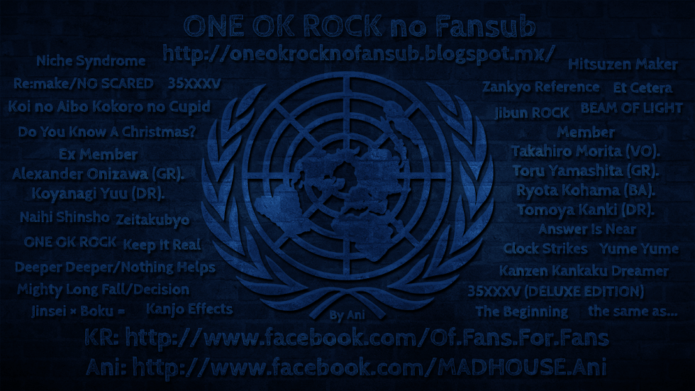 ONE OK ROCK no Fansub