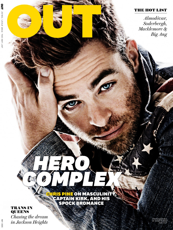 Chris Pine na OUT