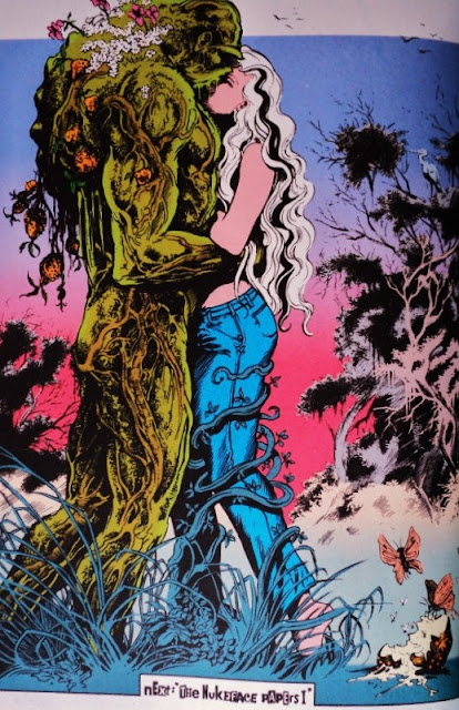 Saga of the Swamp Thing # 32, 33 34 - Moore, McManus, Randall Bissette