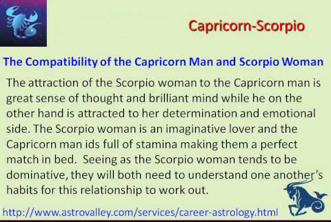 Capricorn Man And Scorpio Woman Sexually