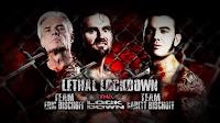 el combate mas letal de todos los tiempos asi es el Lethal Lockdown match
