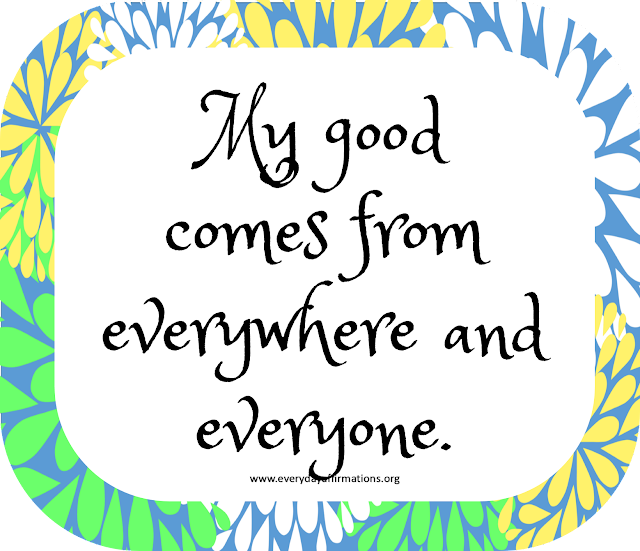 Affirmations Poster, Daily Affirmations