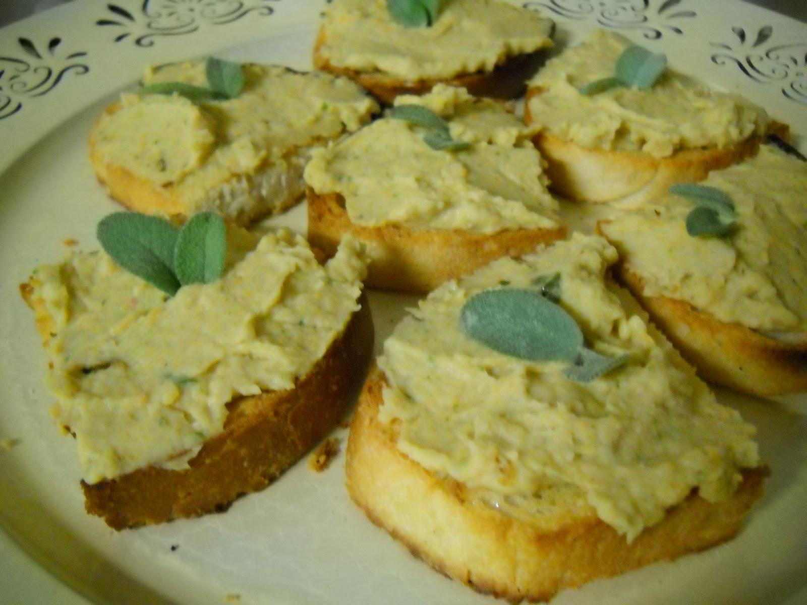 bruschette alla crema di fagioli | cucina speZiale