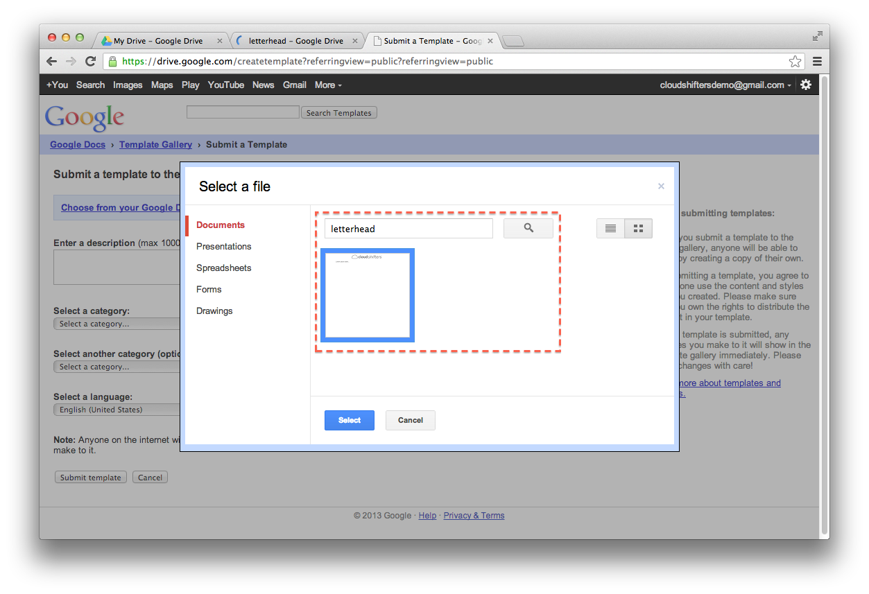 How To Create Templates in Google Docs | cloud shifters blog