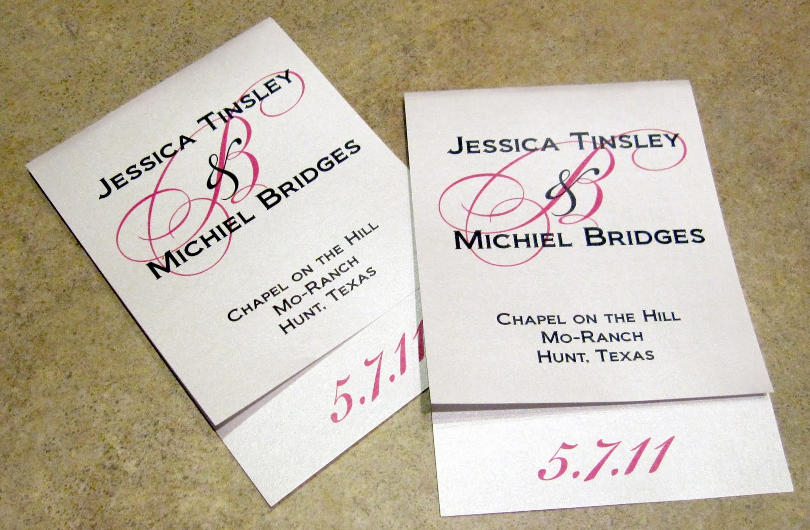 Scrapping Innovations: Jessica and Michiel offset wedding programs