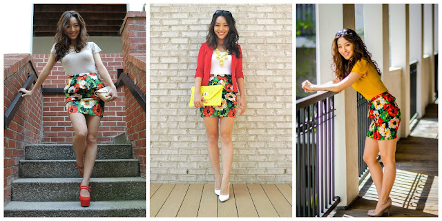 Floral Peplum Three Ways – Pick Your Fave!