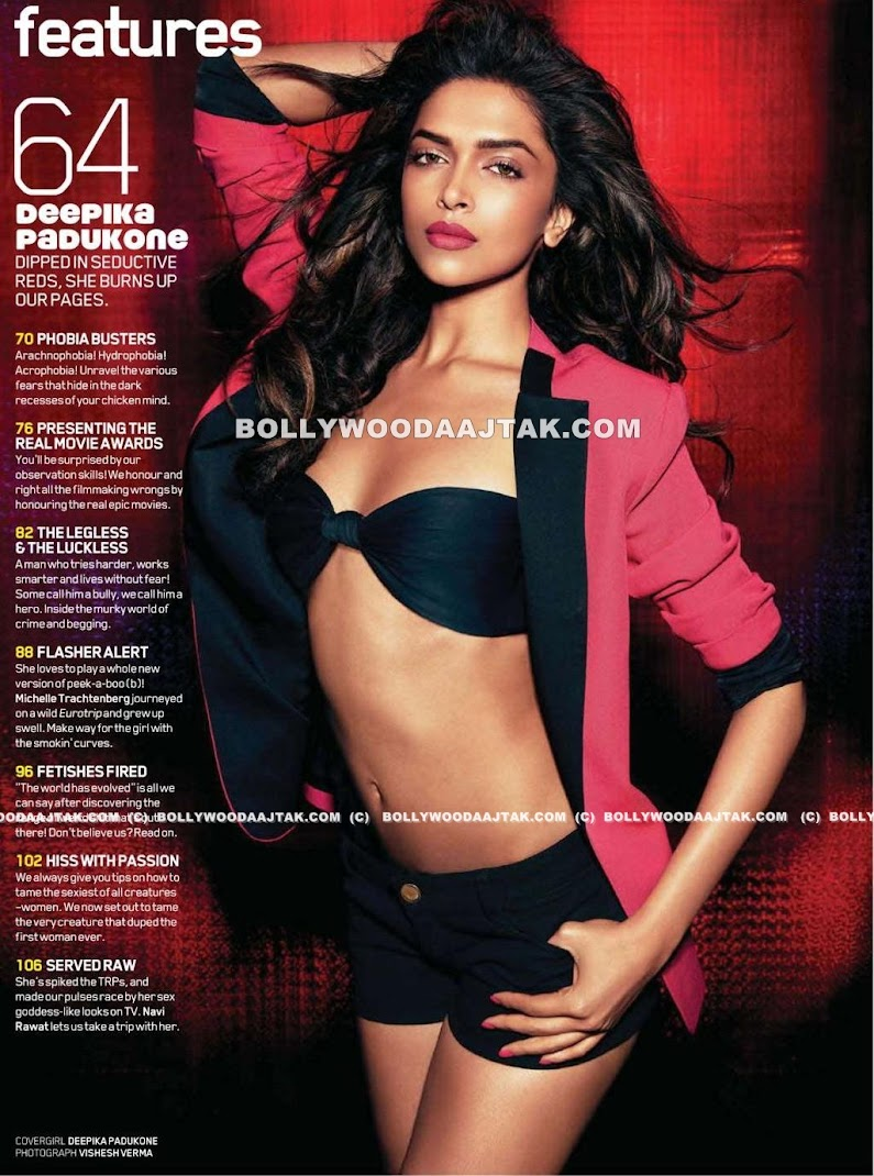 Deepika Padukone Maxim Scans - August 2011 Hot Pics