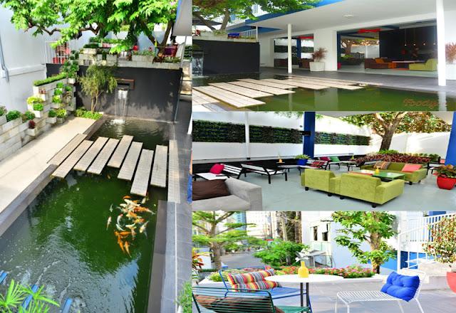 Tee Cafe - Những quán cafe sân vườn đẹp tại Sài Gòn
