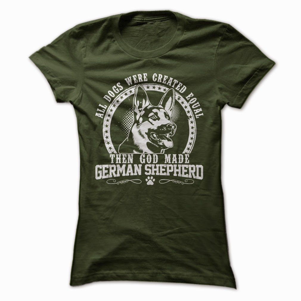 German Shepherd TShirt, German Shepherd Shirts, German Shepherd T Shirt