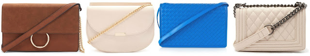 Forever 21 is kind of killing it this season with their little crossbody handbags. Three of these are from Forever 21 for under $25 and one is from Bottega Veneta for $2,100. Can you guess which one is the designer bag? Click the links below to see if you are correct!