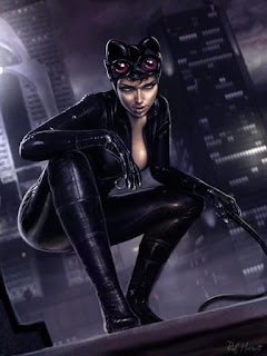 Creative Suite CS2 gratuite: illustration de Catwoman par Raffaele Marinetti