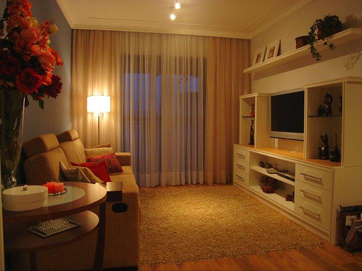 Sala De Estar E Tv Aconchegante ~ de interiores para uma sala de estarjantar de para apartamento de