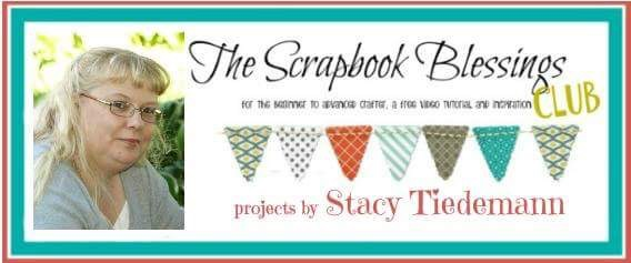 Previous Design Team Member for Scrapbook Blessings Club