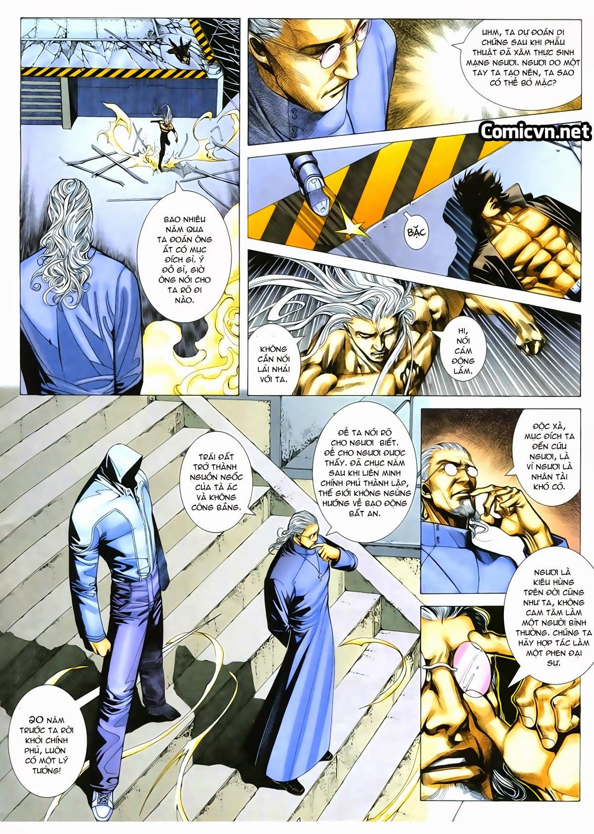 Tuyệt Địa Thiên Hành chap 8 Trang 4 - Mangak.info