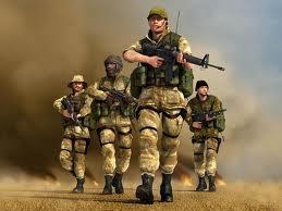 Askerler Bombalı Saldırı Oyunu